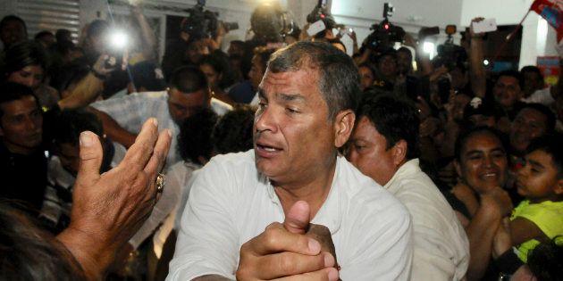 El expresidente de Ecuador Rafael