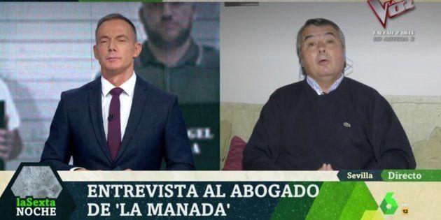 Agustín Martínez, abogado de La Manada, entrevistado por Hilario Pino en 'LaSexta