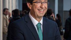 """Juan Marín: """"El acuerdo de gobierno con el PP está"""