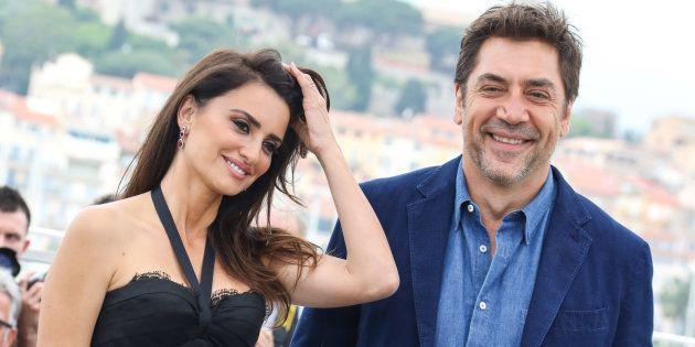 Penélope Cruz y Javier Bardem, en el Festival de Cannes en mayo de