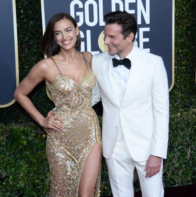 Los gestos de complicidad de Bradley Cooper e Irina Shayk en los Globos de