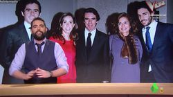 El 'repasito' de Dani Mateo que demuestra que la familia Aznar es la auténtica