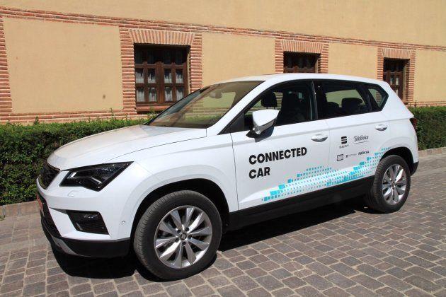 Vehículo Seat Arona utilizado en la prueba