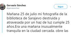 La carta de amor de Gervasio Sanchez a su profesión por los 25 años de una foto