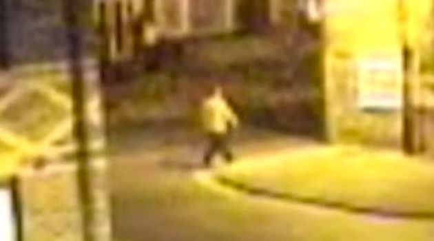 CCTV footage of a person seen around Heworth Place, which leads to the back of Claudia's house, filmed...