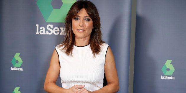 La periodista Helena Resano, presentadora de La Sexta