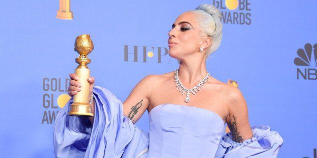 Las emotivas palabras de agradecimiento de Lady Gaga a Bradley Cooper tras ganar un Globo de