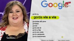 'Gordo', 'gorda', 'juez' y 'jueza'. Itziar Castro busca en Google esas palabras y encuentra estas