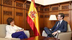 Casado ofrece a Santamaría un puesto en el Comité Ejecutivo y ella exige una representación