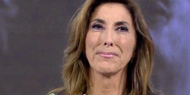 Paz Padilla se emociona en directo al escuchar a su madre hablar de la
