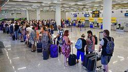 75.000 pasajeros afectados y 24 vuelos cancelados por la huelga de los tripulantes de