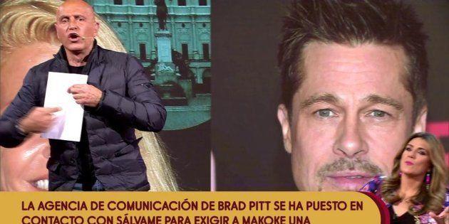 La historia de Brad Pitt con la que han tomado el pelo a 'Sálvame'