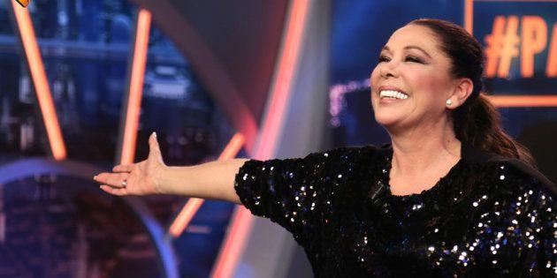 Isabel Pantoja, en un momento de una entrevista en 'El Hormiguero' (Antena