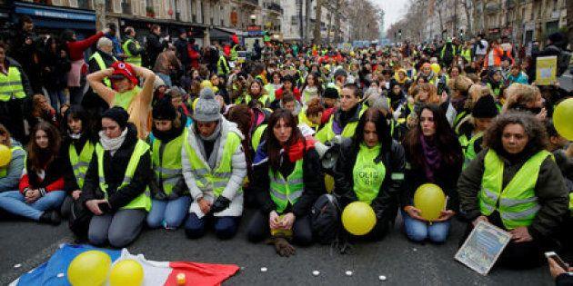Imagen de archivo de una protesta de los 'chalecos amarillos' en