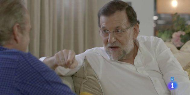 Mariano Rajoy en la emisión de 'En tu casa o en la mía' con Bertín Osborne del 2 de diciembre de