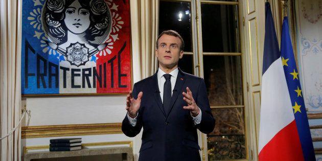 El presidente francés, Emmanuel
