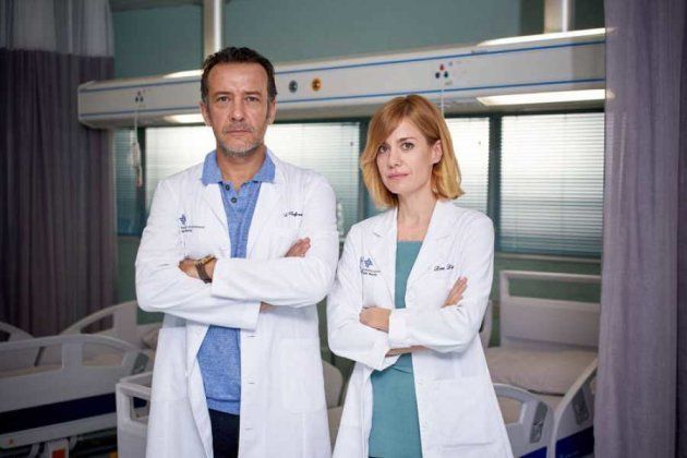 José Luis García Pérez y Alexandra Jiménez, en 'Hospital Valle