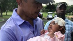 Obama besando a este bebé es lo más tierno que verás