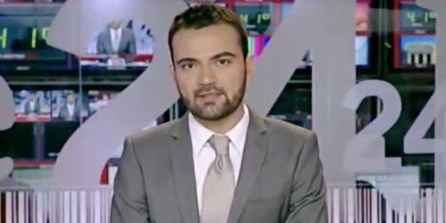 La indignada queja de este periodista de TVE tras la advertencia de la corporación de que vigilarán su...