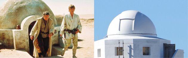 La casa de Luke Skywalker en