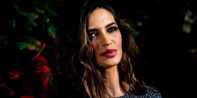 Sara Carbonero, en la fiesta de Navidad de Elle en diciembre de