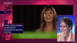 El primer 'casting' de Cristina Pedroche (con canción de María del Monte