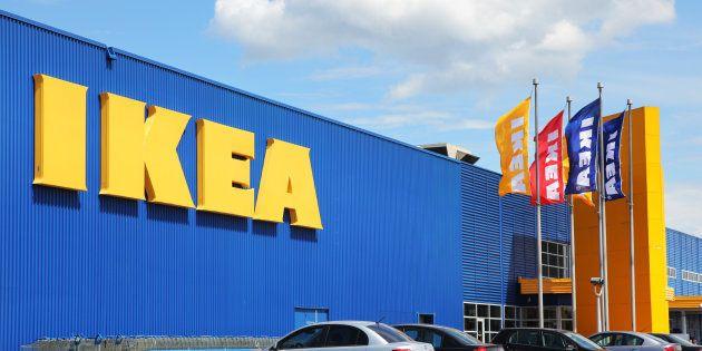 Una tienda de IKEA en