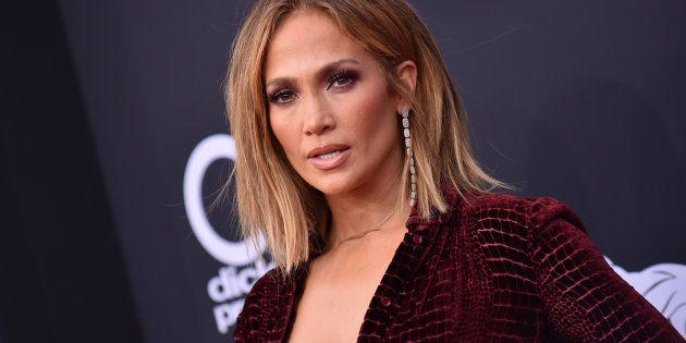 La cantante Jennifer Lopez, en los Billboard Music Awards