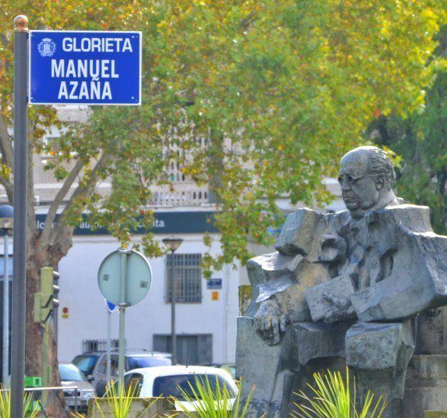 Glorieta de Manuel Azaña en Alcalá de