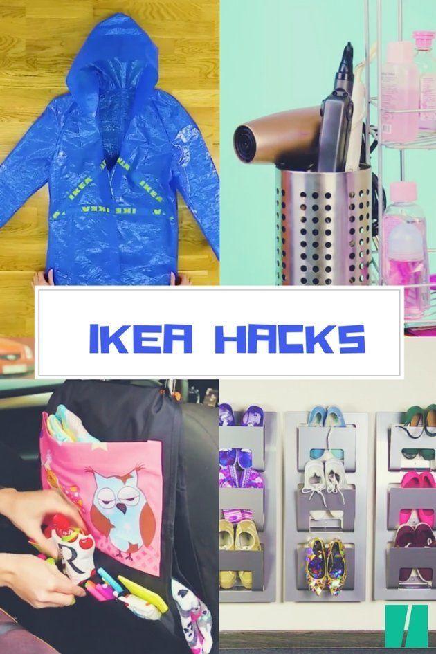 Cómo hacerte un chubasquero con la bolsa azul y otros tres 'Ikea
