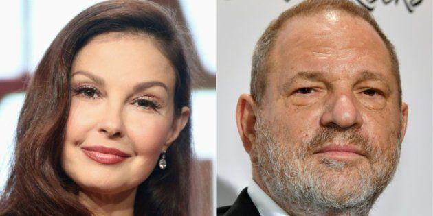 Ashley Judd y Harvey