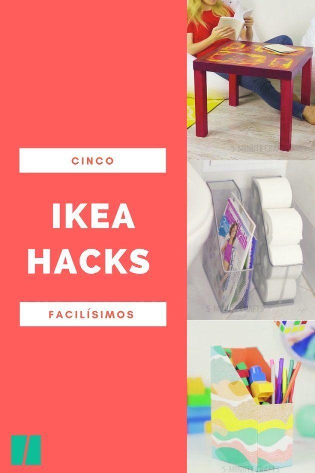 Cómo personalizar la mesa Lack de Ikea y otros cuatro