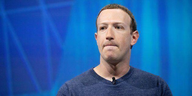 Mark Zuckerberg, fundador de Facebook, en el evento Viva Tech en París (Francia) en mayo de