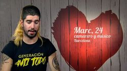 El nieto de Tàpies, en 'First Dates':