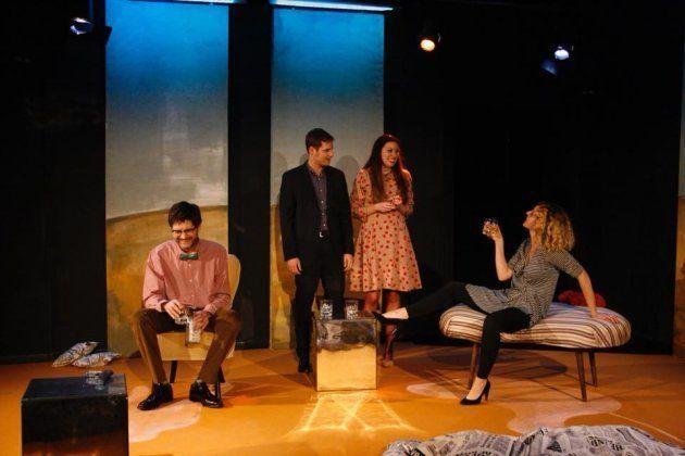 Escena de '¿Quien teme a Virginia Woolf?' en Arte y