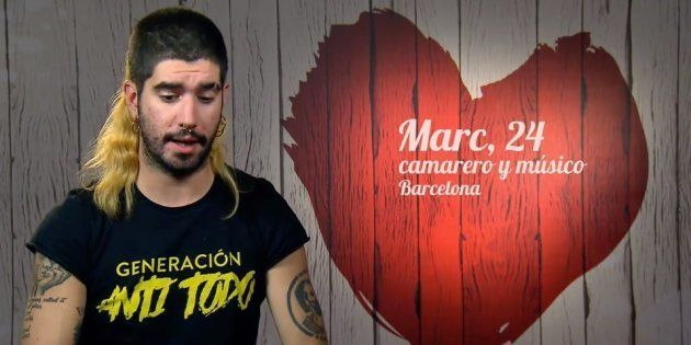 Marc Tàpies, de 24 años, en 'First