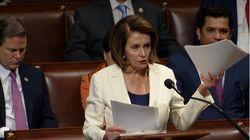 La demócrata Nancy Pelosi bate el récord del discurso más largo en la Cámara baja de
