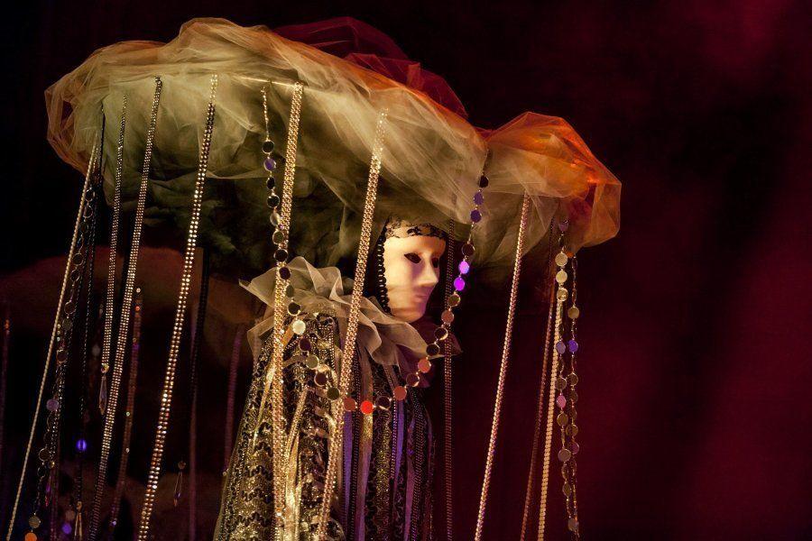 Espectáculo de la Gala de Elección de la Reina del Carnaval de Santa Cruz de
