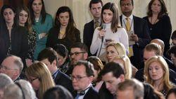 """La Casa Blanca veta a una periodista de la CNN por sus """"preguntas inadecuadas"""" a"""