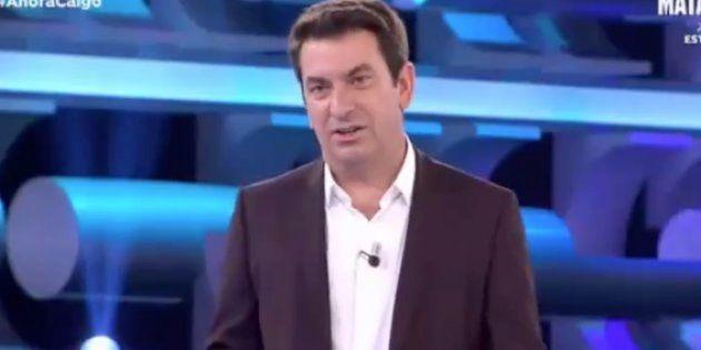 Arturo Valls, presentador de 'Ahora caigo' (Antena