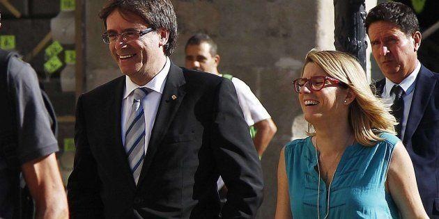 La supuesta estrategia independentista: presidencia simbólica para Puigdemont y efectiva para Elsa