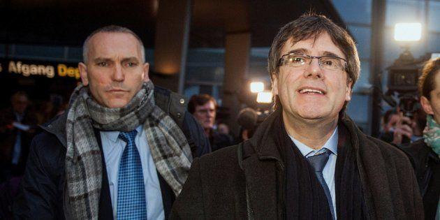 La Generalitat ficha como asesor al mosso que ayudó a Puigdemont a huir a