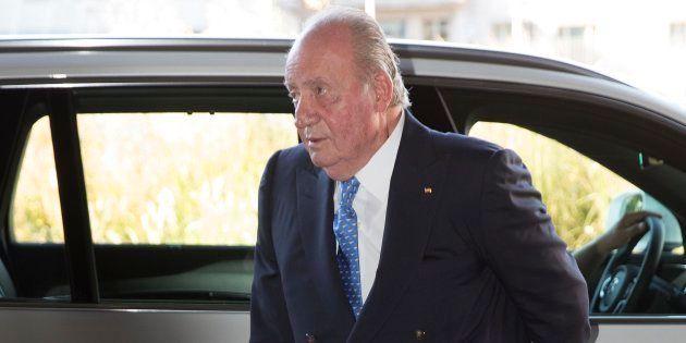 El rey Juan Carlos, fotografiado el 30 de junio de 2018 en La