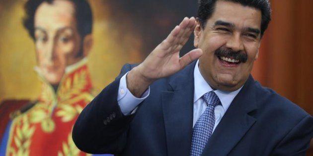 El presidente de Venezuela, Nicolás
