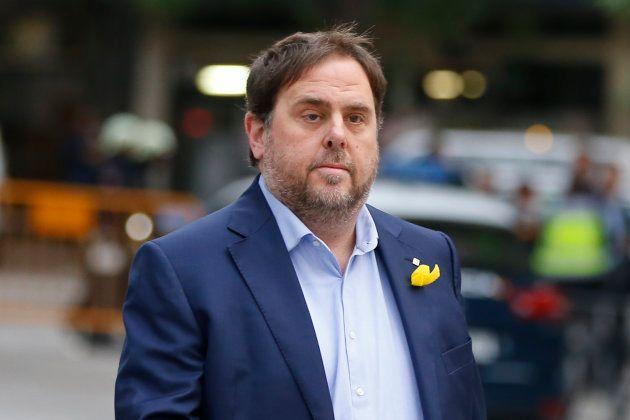 Oriol Junqueras, cabeza de lista de ERC a las elecciones