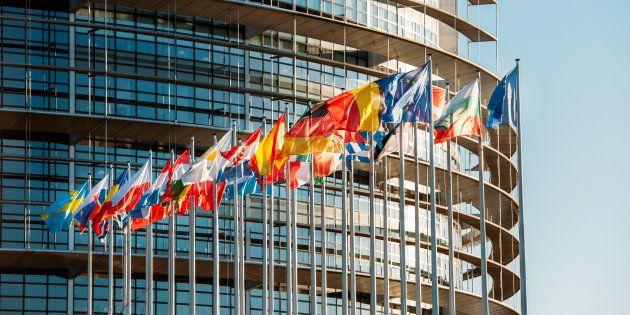 El Parlamento Europeo en Estrasburgo