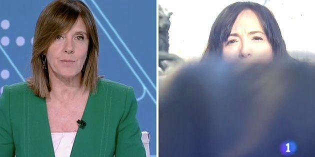 Ana Blanco, presentadora del Telediario de