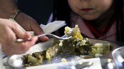 Denuncian la presencia de gusanos en el menú de un comedor escolar de