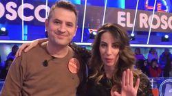 Almudena Cid vuelve a 'Pasapalabra' y Christian Gálvez revela un dato muy
