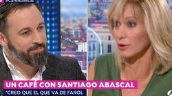 El rifirrafe de Susanna Griso con Abascal tras acusarle de tener